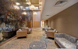 Banquet room hallway